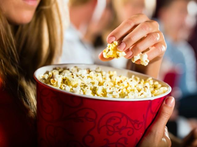 Popcorn boltot nyitott a világhírű amerikai színésznő