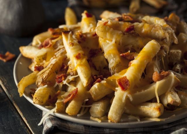 Sajtos sült krumpli