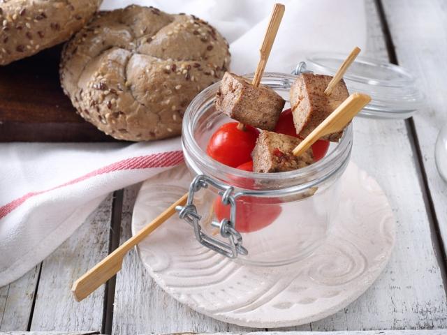 Vegetáriánus finger food