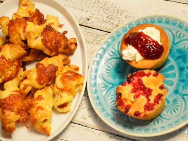 Bogyós Gyümölcsös muffin
