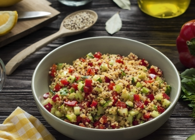 Quinoa, 5 módon