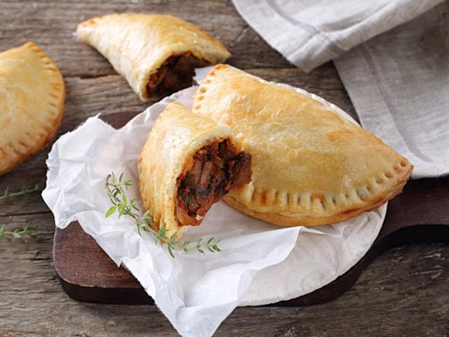 Street food ősszel is: gombás empanadas