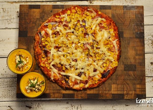 Egészséges ,,hamis'' pizza