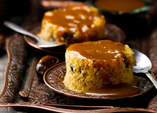 Ragacsos karamelles sütemény
