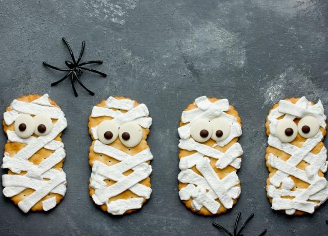 Sütőtökös kekszmúmia