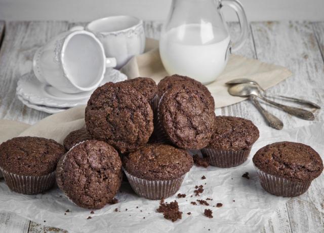 Vegán banános-csokis muffin