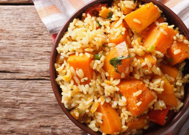 Gyors sütőtök curry