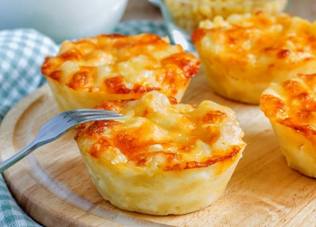 Sütőtökös Mac and Cheese muffin