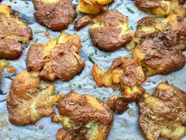 A legjobb köret tipp: lapított krumpli