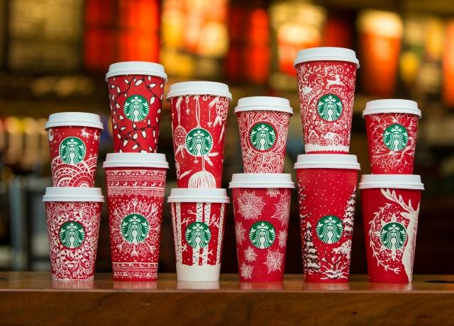 Vendégek készítették a Starbucks ikonikus piros ünnepi poharait