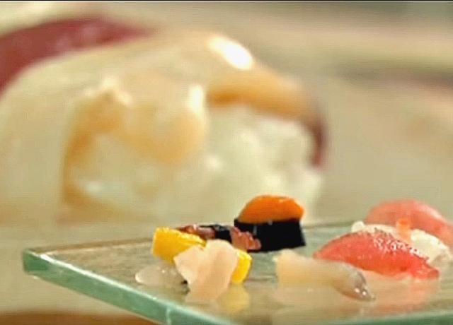 A világ legkisebb sushija