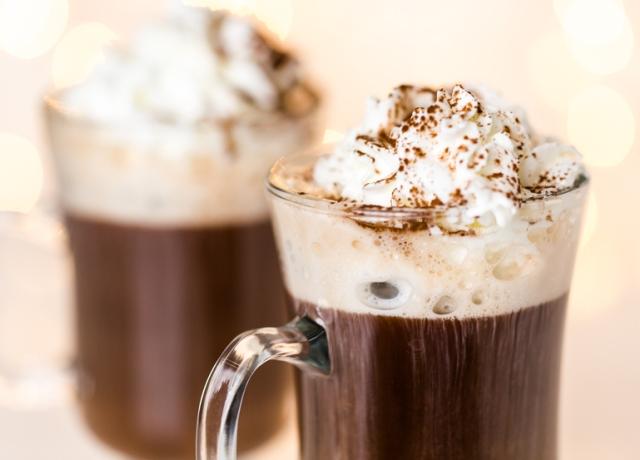 Forró csoki – bátraknak fagyival