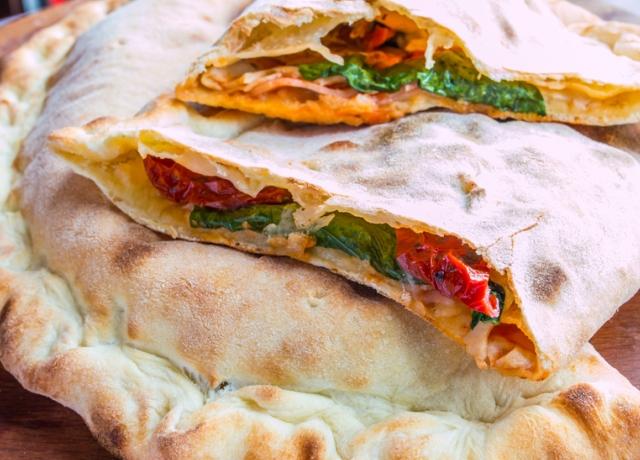 Gyors vega Pizza Calzone