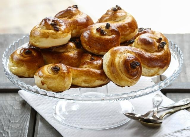 Székfaragás helyett sütemény – Szent Luca napja Svédországban