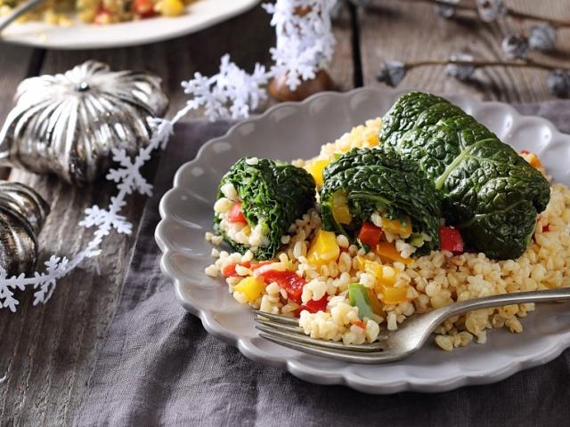Kedvenc karácsonyi menünk 2. rész: Vegetáriánus töltött káposzta
