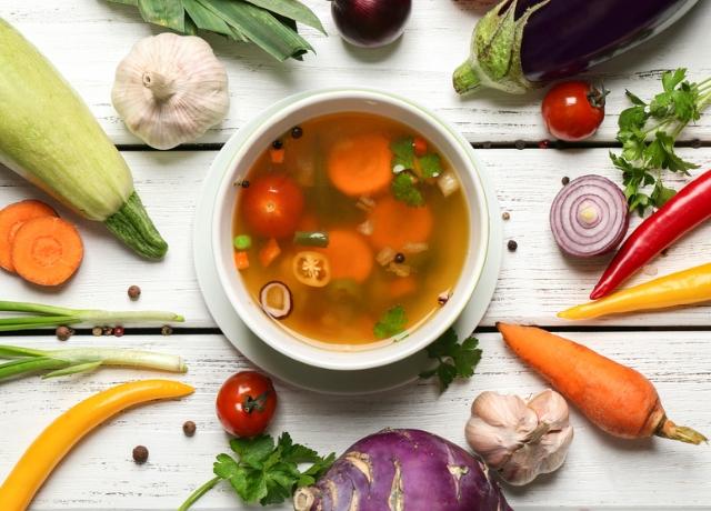 5 lépés a nagyszerű levesért