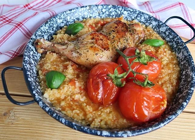 Itt egy jó és egészséges recept, méghozzá egy finom csirke-rizs alternatíva