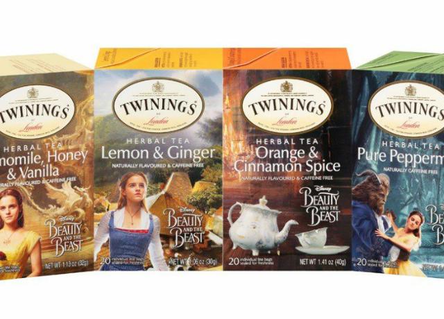 A szépség és a szörnyeteg filmhez kapcsolódó teákat dobtak piacra