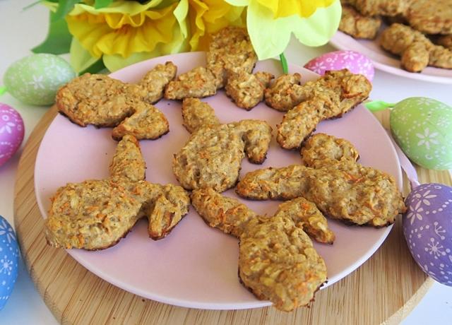 Húsvéti nyuszi keksz csupa egészséges hozzávalóból