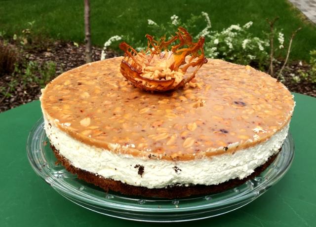 Őrület! A Túró Rudi Pöttyös Guru desszertjét tortába álmodta Olivér séfünk