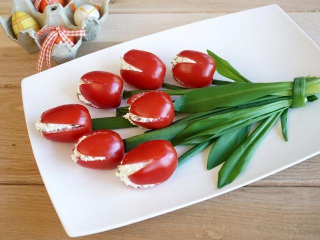Különleges, ehető virágcsokor, amelyet gyerekjáték elkészíteni