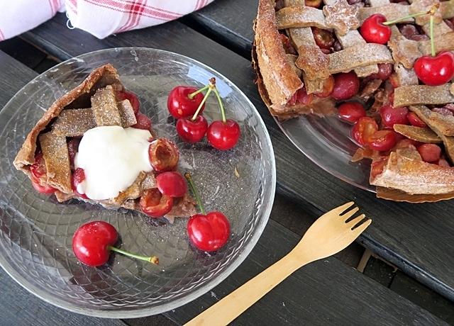 Íme a finom és egészséges cseresznyés pite receptje