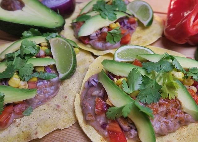 Egyszerű, gyors és egészséges fogás: Zöldséges taco