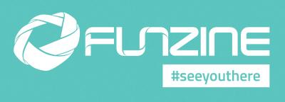 1. FUNZINE_logos 2017 elem + szlogen - turkiz alapon
