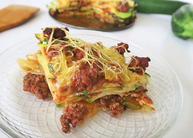 Íme a lasagna diétás verziója