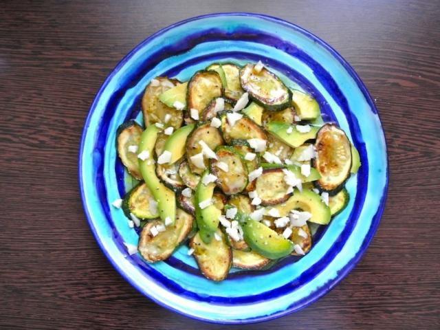 A cukkini és az avokádó ízletes találkozása