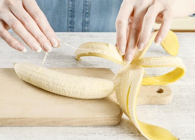 Ki az, aki tudja, hogy mik azok a szálak a banánon??
