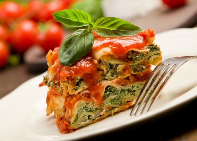 Giada De Laurentiis lasagna-trükkje