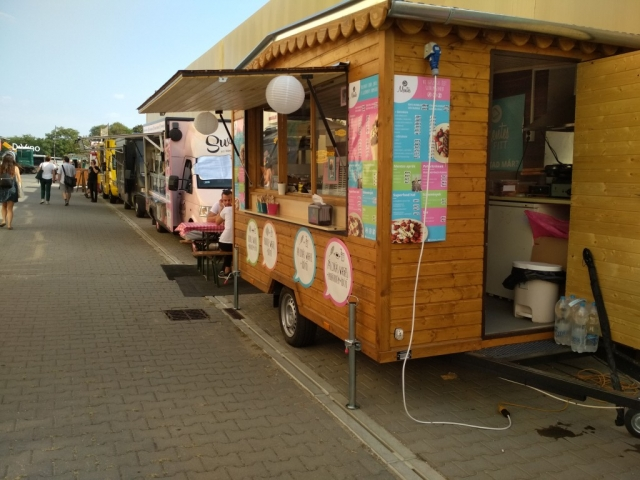 Food Truck Show-n jártunk a hétvégén