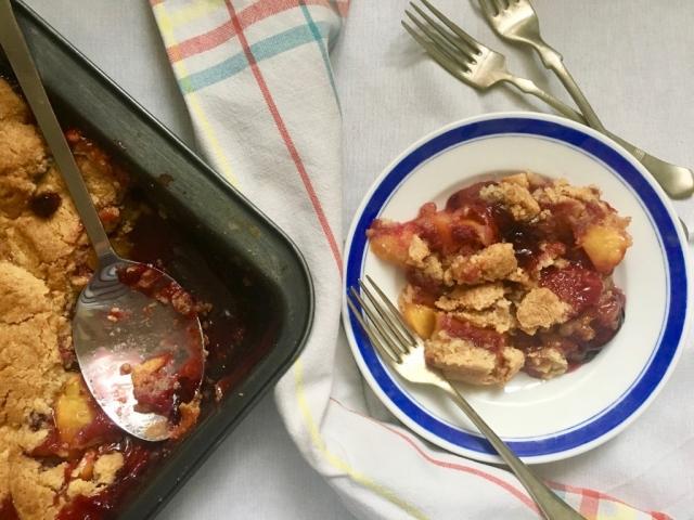 Gyümölcsös süti, avagy cobbler - szinte bármiből