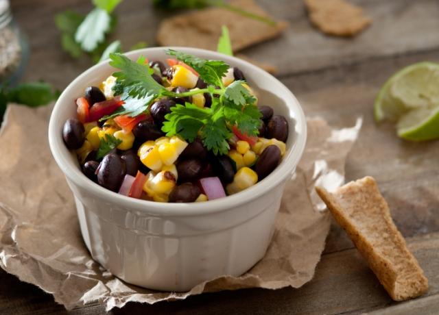 Babos-kukoricás salsa