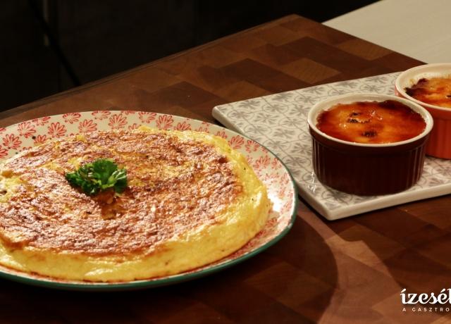 Katalán krém és spanyol tortilla