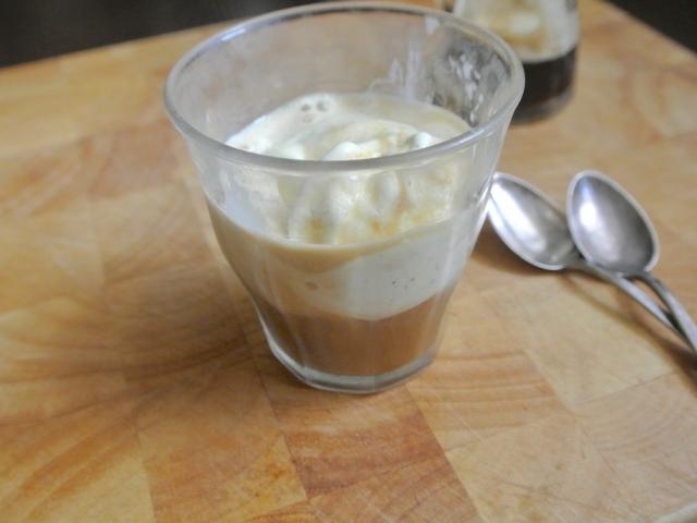 Kávés desszert kimaxolva