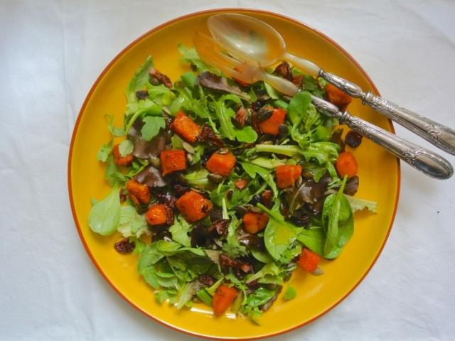 Íme Sára Sütőtökös Salátája