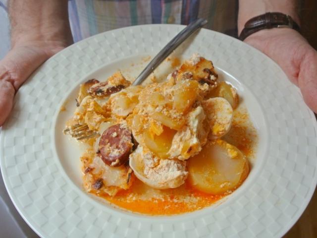 Ma van a Főzzön a férfi vacsorát! nap. Horvát Sára férje ennek eleget tett, sőt!