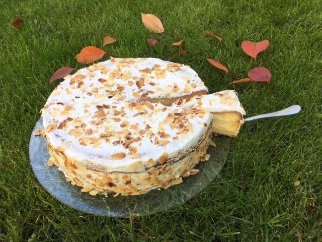 Mandulás-kókuszos torta