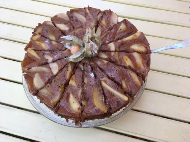 Körtés csokis Charlotte torta