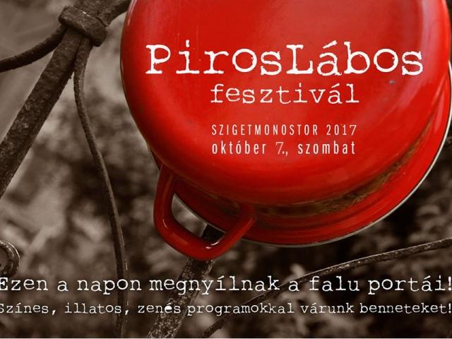 PirosLábos fesztivál - Nyitott porták Szigetmonostoron