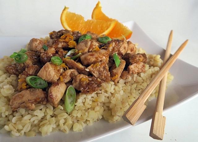 Kínai narancsos csirke, egészségesebben