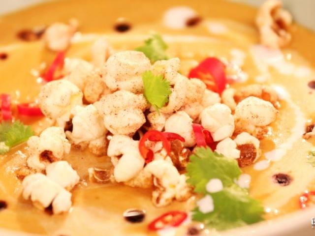 Ázsiai sütőtök krémleves