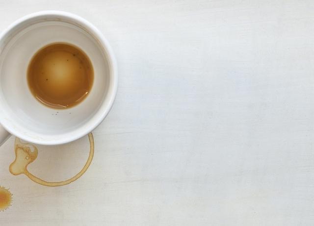 Makacs kávé folt? Nem probléma!