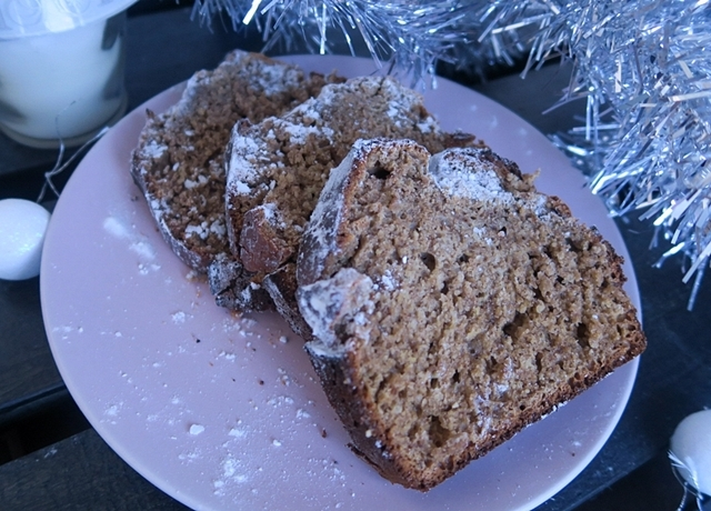 Mézeskalács kenyér egészséges hozzávalókból