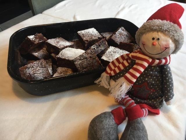 Karácsonyi céklás-csokoládés süti