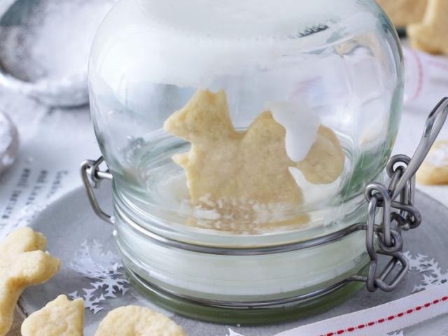 Picit dísz, picit édesség - az egyik leghelyesebb apró meglepetés karácsonyra: Kekszhógömb