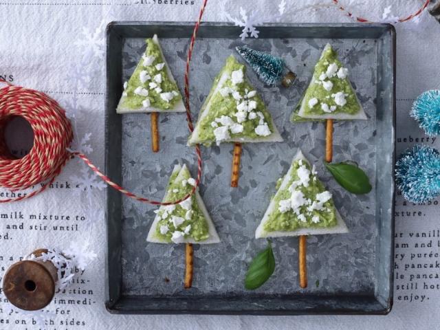 Kis havas fenyőfák az ünnepre, készítsétek együtt a gyerekekkel!