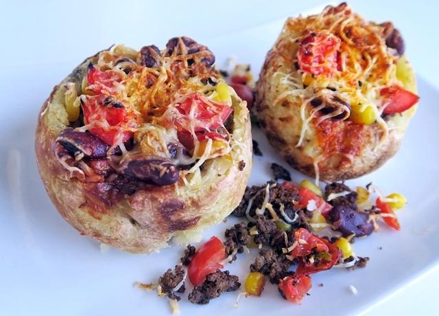 Taco burgonya